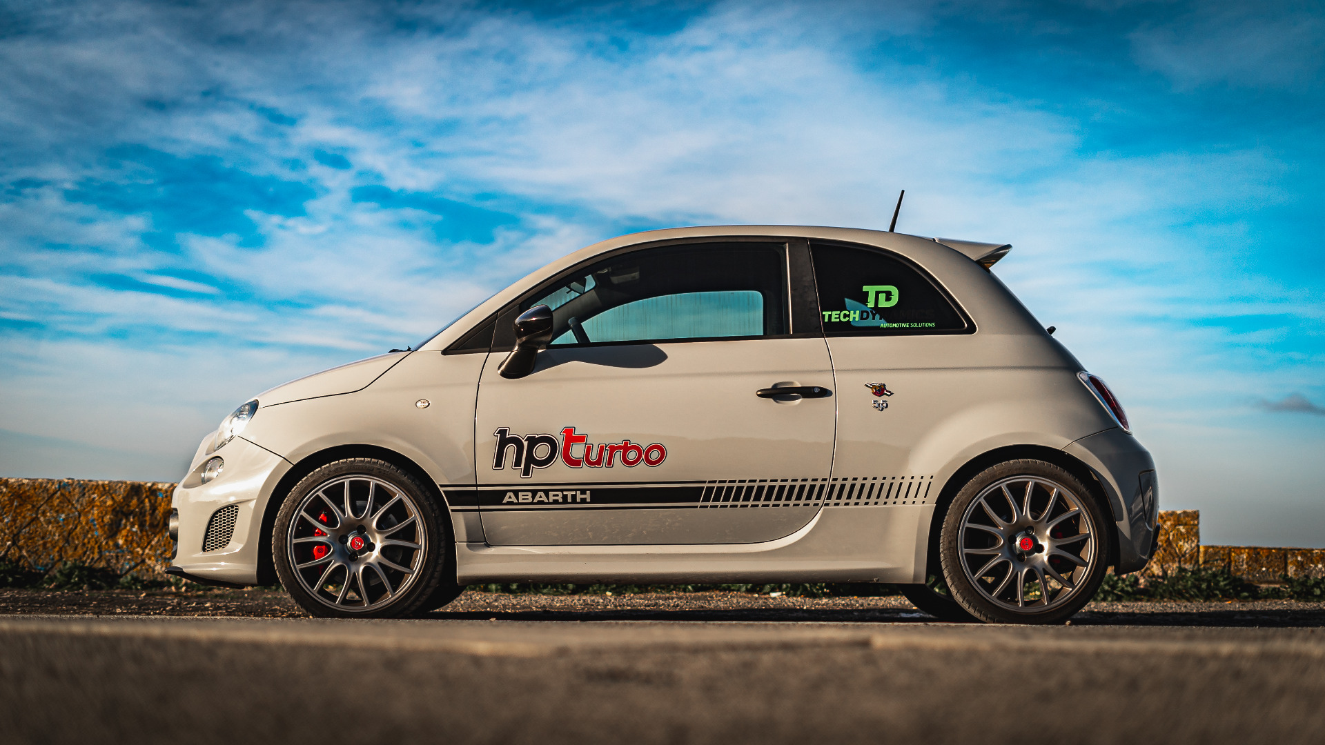 HPT #ARTICLE33 HPTurbo Abarth with CaronlineTv