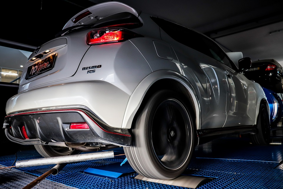 HPT #ARTICLE36 Remap STAGE 1 Nissan Juke Nismo RS 📉 Original » 187,4 hp / 238,5 Nm 📈 Stage1 » 212,5 hp / 314,8 Nm